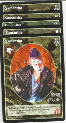 Samantha x5 Gangrel antitribu SW VTES Jyhad