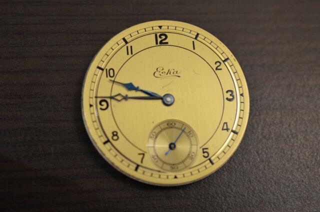 Movement Pocket watch  ESKA for parts - balance OK