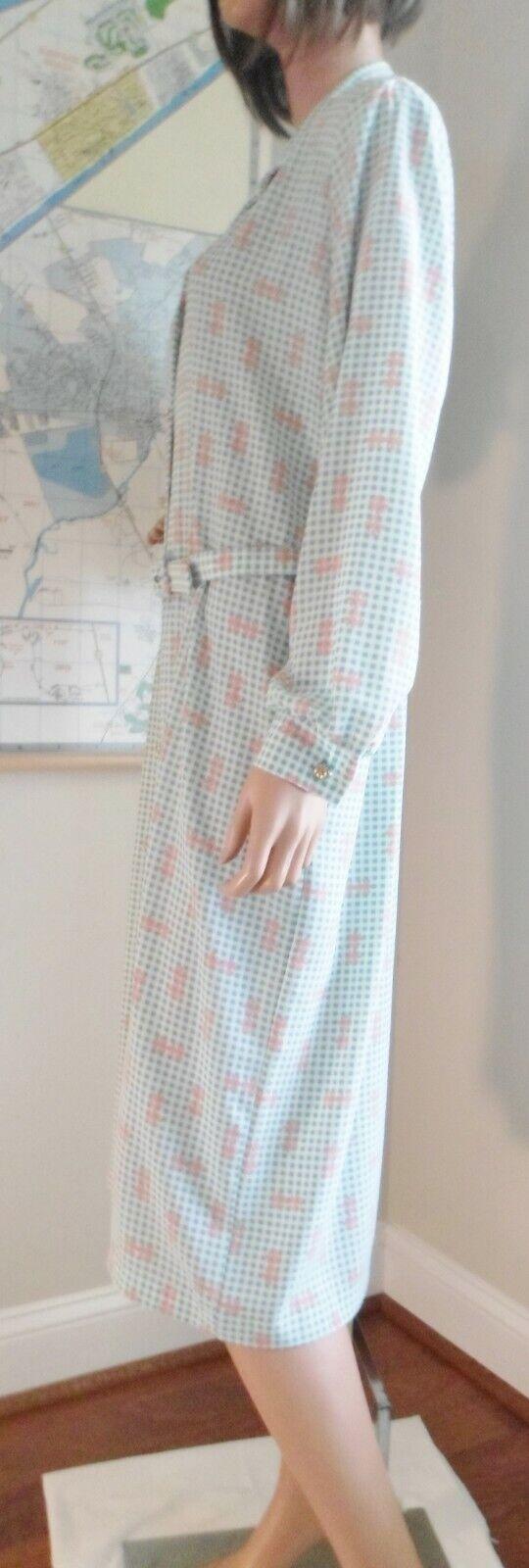 Vtg 70s Breli Originals  Belted Shirt Dress~Mint … - image 5