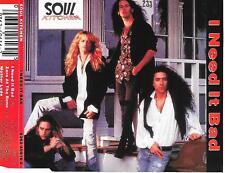 SOUL KITCHEN - I need it bad CD SINGLE 3TR Hard Rock 1992 GERMANY GIANT RECORDS