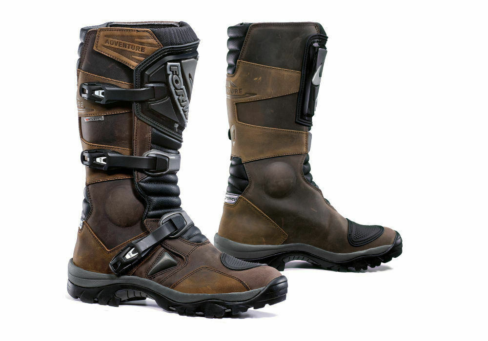 STIEFEL LEDER MOTORRAD CROSS CROSS CROSS ENDURO OFF ROAD ATV QUAD FORMA ADVENTURE BRAUN 44   caed81