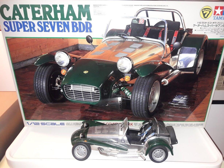 TAMIYA 1 12 Caterham 7 BDR Cosworth Seven NO BOX master series Rare Built kit BD