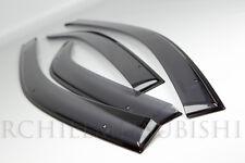 2008-2012 MITSUBISHI LANCER VENT EVOLUTION EVO X DOOR VISORS WINDOW MZ562863EX