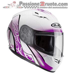 Casco Hjc Cs-15 Valenta White//Pink Xs