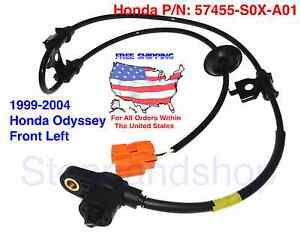 New ABS Wheel Speed Sensor fits 1998-2000 Toyota Sienna Front Driver Side LH