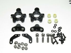 SER903014 SERPENT VIPER 977 EVO 35TH ED. FRONT STEERING UP-RIGHT SPINDLE SET