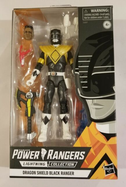 DRAGON SHIELD BLACK RANGER Power Rangers Lightning Walgreens Exclusive *DMG Box*