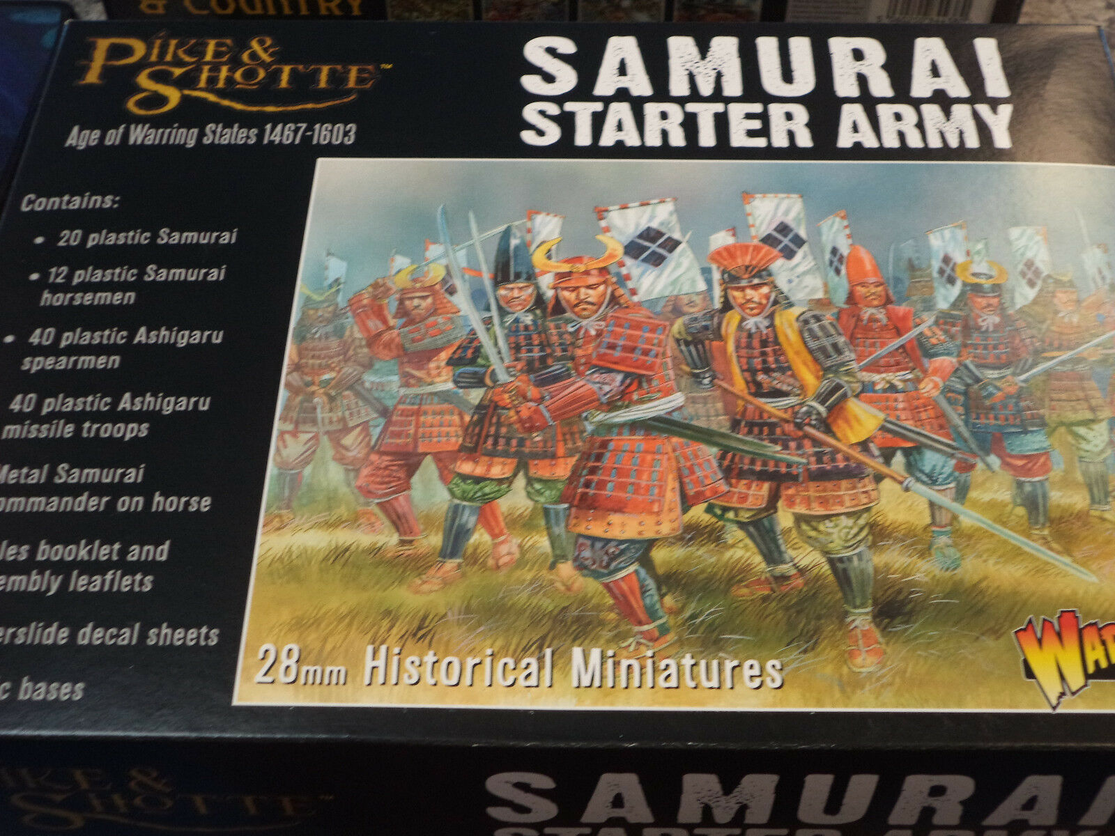 Samurai Starter Army Pike and  Shotte Set jeu de guerre Warlord Games NEUF  &  promotions passionnantes