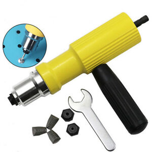 Rivet-Gun-Adaptor-For-Cordless-Drill-Electric-Nut-Riveting-ToolRiveter-Insert-SG