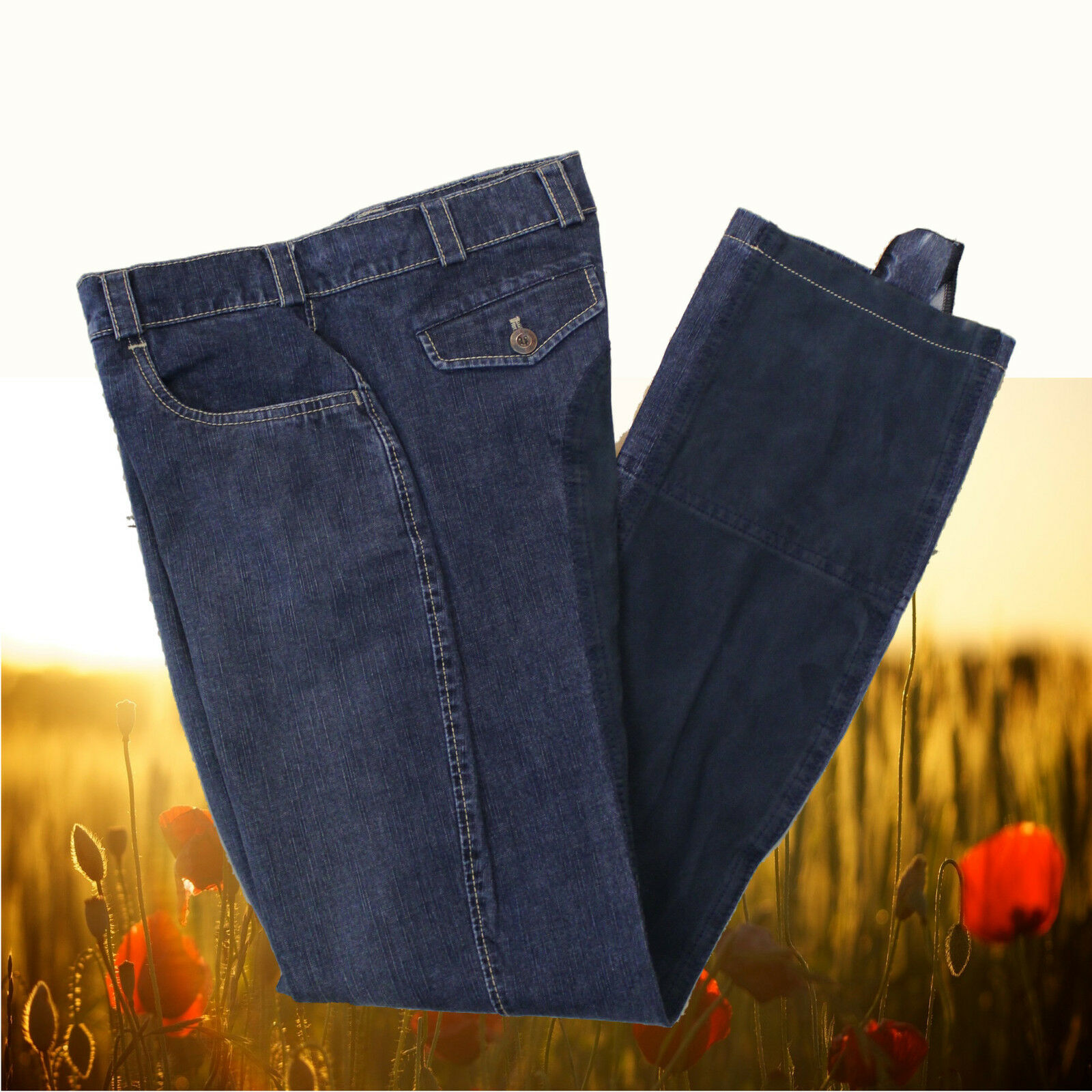 Pikeur Jodhpur Reithose Cassina Jeans blau, Pikeur Jodhpurreithose Cassina