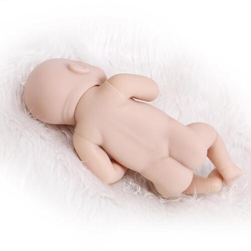 Silicone Mold Handmade Reborn Doll Girl unpainted blank doll kit 11/'/'