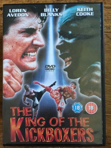 1 of 1 - Loren Avedon Billy Blanks KING OF THE KICKBOXERS: No Retreat Surrender 4 UK DVD