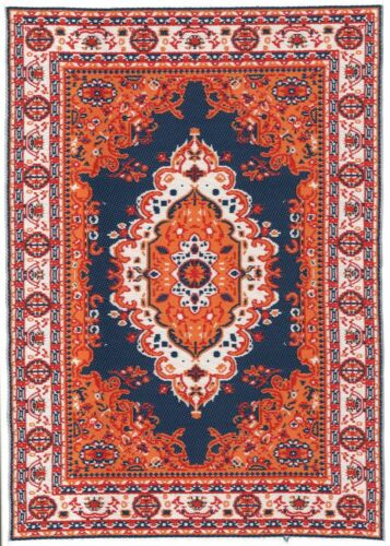"Dollhouse Miniature Beautiful Woven Turkish Rug 6/"" x 9/"" ~ M110-229"