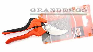 Bahco-Secateur-Pruners-Ergo-PG-M2-F-Gardening-Tool-Orange-Quality-Made-Swedish