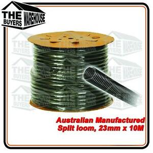 100% Premium Australian Made Split Loom Tubing Wire 23mm Conduit Cable 10m UV