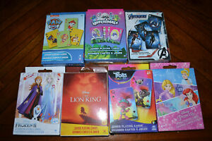 Disney Marvel Trolls Nickelodeon Hatchimals Frozen II Jumbo Playing Cards 4