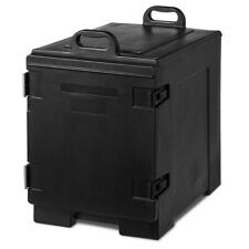 Topbuy 5 Layer End Loading Insulated Food Pan Carrier Transporter