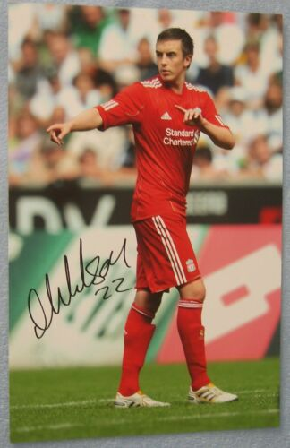Danny Wilson signed Liverpool 12x8