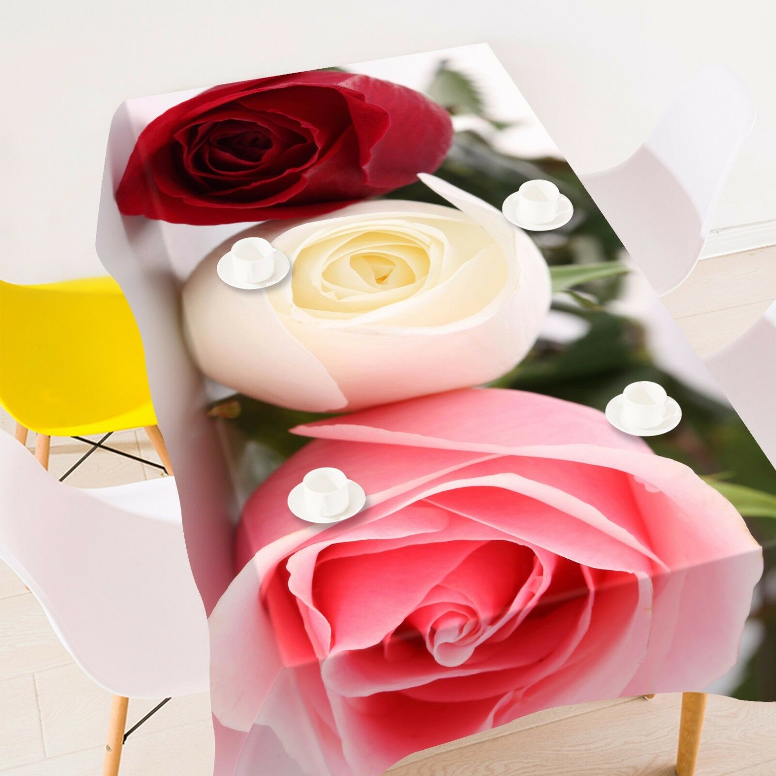 3D Rose 4296 Tablecloth Table Cover Cloth Birthday Party Event AJ WALLPAPER AU