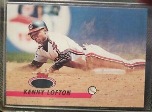 1993-Topps-Stadium-Club-ERROR-CARD-Kenny-Lofton-No-Gold-Foil-277