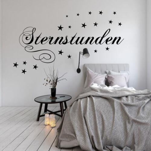 Mural chambre étoile heures chambre enfant aa016 murale sort
