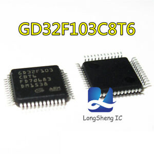 5PCS-GD32F103C8T6-Quad-Flat-Package-NEUF
