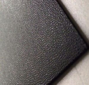 3mm Black Pinseal Embossed ABS Sheet 1390mmx990mm