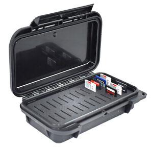 SD-Memory-Card-Case-with-Custom-Slotted-Foam-Waterproof-Dustproof-Black-on-Black