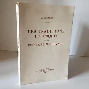 G-Loumyer-I-Traditions-Tecniche-Della-Pittura-Medievale-Laguet-1996