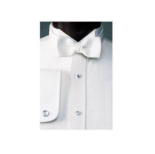 NEW Mens White Pique Tuxedo Shirt Mardi Gras Formal Debutante Ball ALL SIZES