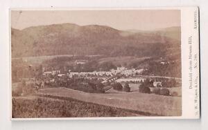 Vintage-CDV-Dunkeld-from-Birnam-Hill-Scotland-G-W-Wilson-Ph-Aberdeen