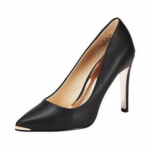 JENN-ARDOR-Women-BLACK-High-Heel-Shoes-Closed-Pointed-Toe-Pumps-Stiletto-Size9-5
