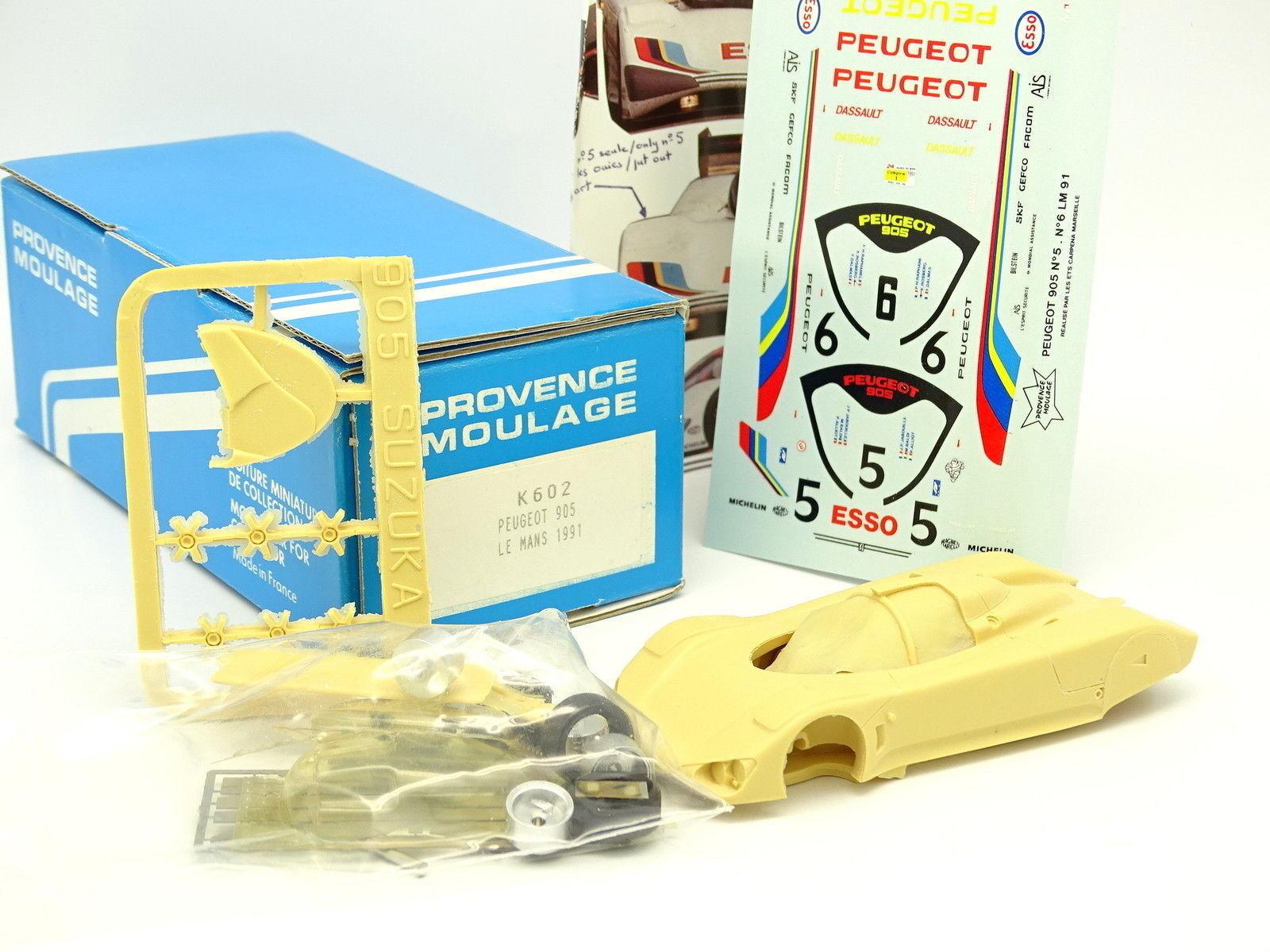 Provence Moulage Kit para montar 1  43 - Peugeot 905 Le Mans 1991 No5 N 65533;65533; 6