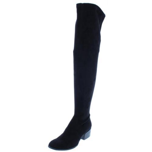 3303 Kenneth Cole New York Womens 7 Adelynn Over-The-Knee Boots 6 Medium B,M