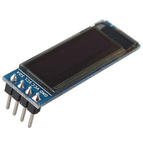 "OLED LCD Display 0.91/"" 128x32 IIC I2C Serial DIY Module for Arduino Pic RPI #513"