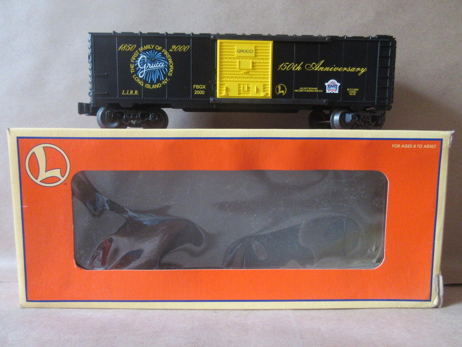 Tren Lionel Modelo 6-52186 nloe Grucci Caja Auto o escala