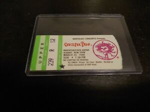 Grateful-Dead-Ticket-Knickerbocker-Arena-Albany-NY-03-25-1990-Mail-Order