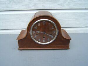 Art-Deco-chiming-Walnut-mantel-clock-Wurtheenburg-W200-316-beautiful-case-M7