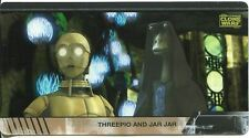 Star Wars Clone Wars Widevision Animation Cel Chase Card #1