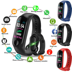 Smart-Band-Watch-Bracelet-Fitness-Activity-Tracker-Blood-PressureHeartRate-M3PLV