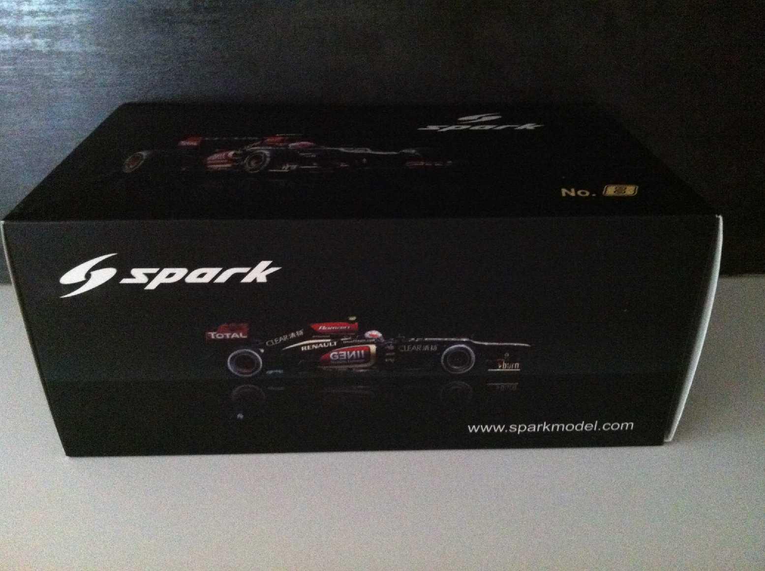 Lotus Renault E21 Grosjean F1 2013 Spark 1 18