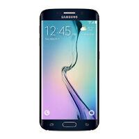 Samsung Galaxy S6 Edge 128gb Smartphone At&t Sm-g925azkfatt Black Brand on sale