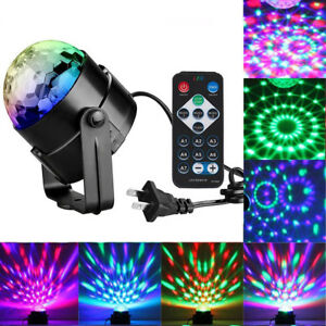 Hot-Voice-Control-RGB-LED-Ball-Laser-Projector-Stage-Light-Club-DJ-KTV-Party-Bar