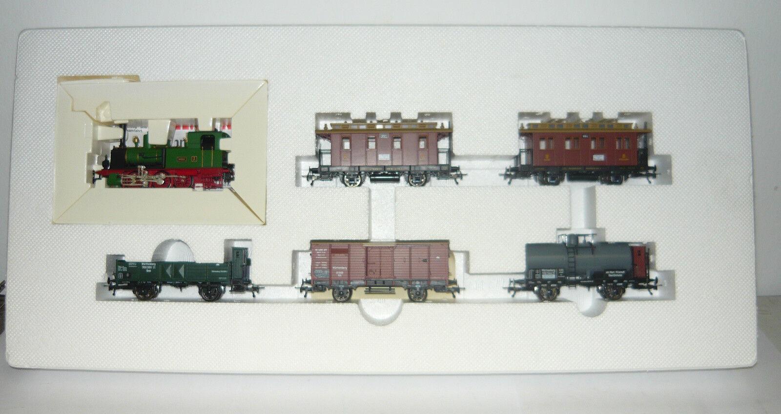 Fleischmann 1892, Zugset, 150 Jahre Eisenbahnen in W 65533;65533; rttemberg, H0, AC, NEU &OVP