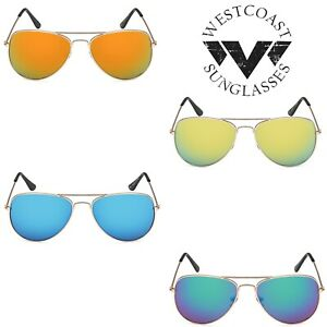 Fashion-Women-Men-Unisex-Metal-Aviator-Mirrored-Lens-Beach-Summer-Sunglasses