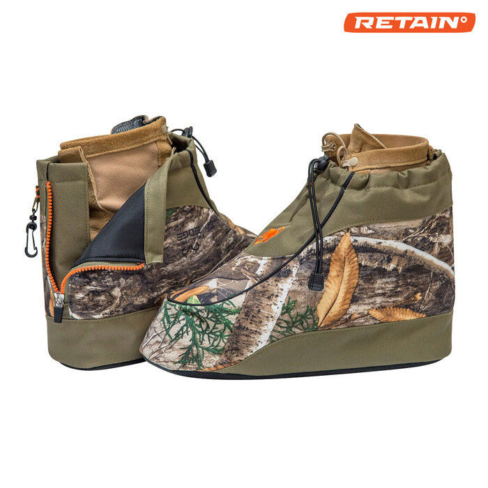 NEW 2018- Insulated Boot Covers by ArcticShield- Realtree EDGE shoes size  6-7