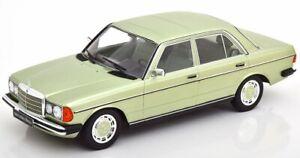 MB Mercedes Benz 280 E / W123 - 1977 - greenmetallic - KK 1:18