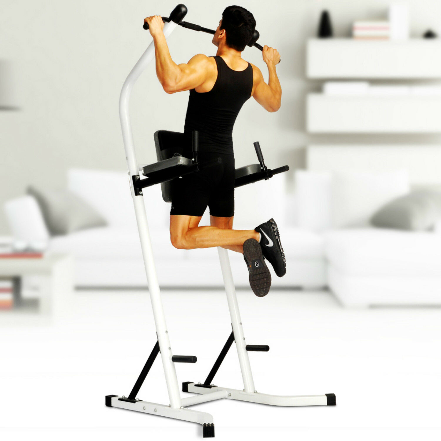 Power Tower Workout  Dip Station Pull Up Gym Training Equipment Stretch Ma ne  official website