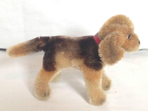 "❤️STEIFF BIGGIE BEAGLE Dog 1310,0 Miniature 4/""Standing 1958-61 MOHAIR XCLT CND❤️"