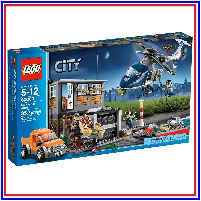 LEGO City 60009   L'intervention de l'Hélicoptère   NEUF SCELLE